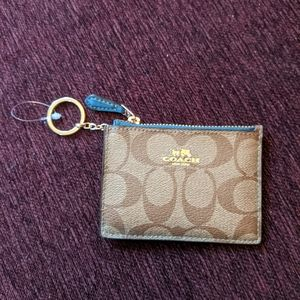 Coach card case/ wallet